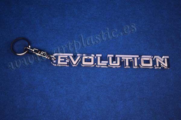 llaveros personalizados originales evolution